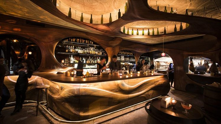 Bar Raval is a 21st-century response to Spanish Art Nouveau design. The brainchild of celebrated Canadian chef Grant van Gameren ...