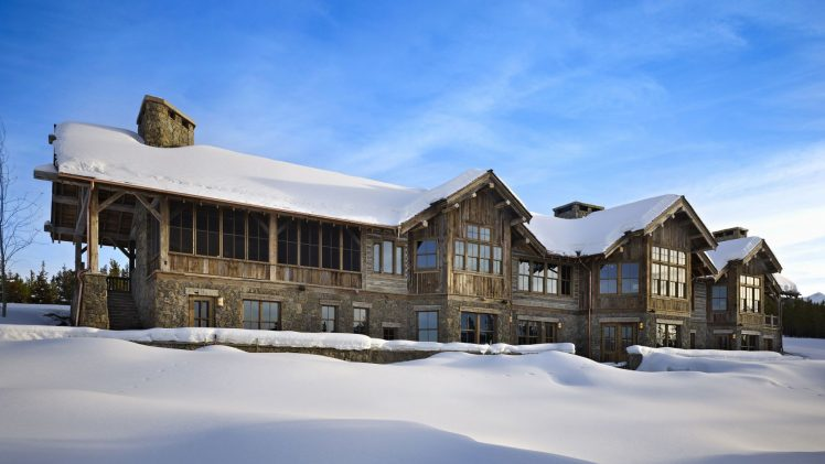 The house is positioned on the 160-acre site in the Yellowstone Club and offers outstanding views on the Spanish Peaks. ...