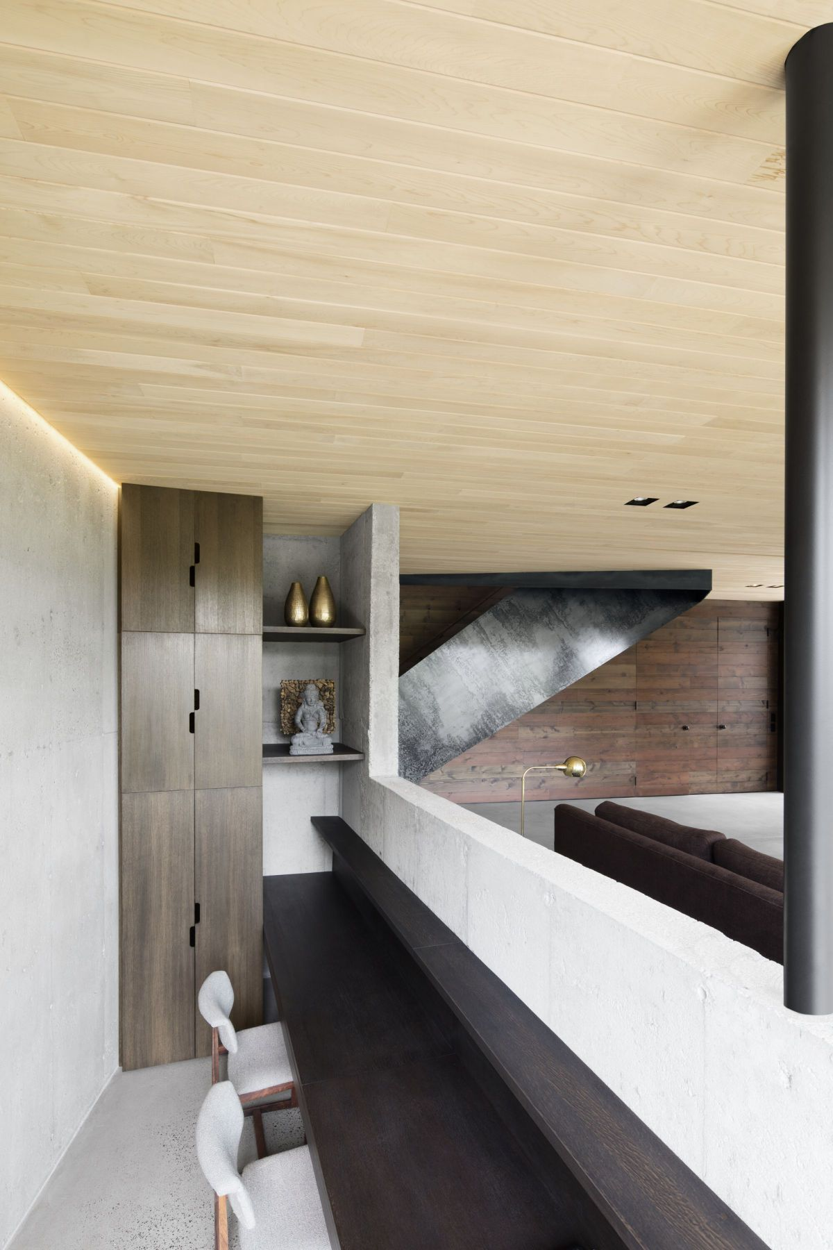 wooden ceiling modern architecture