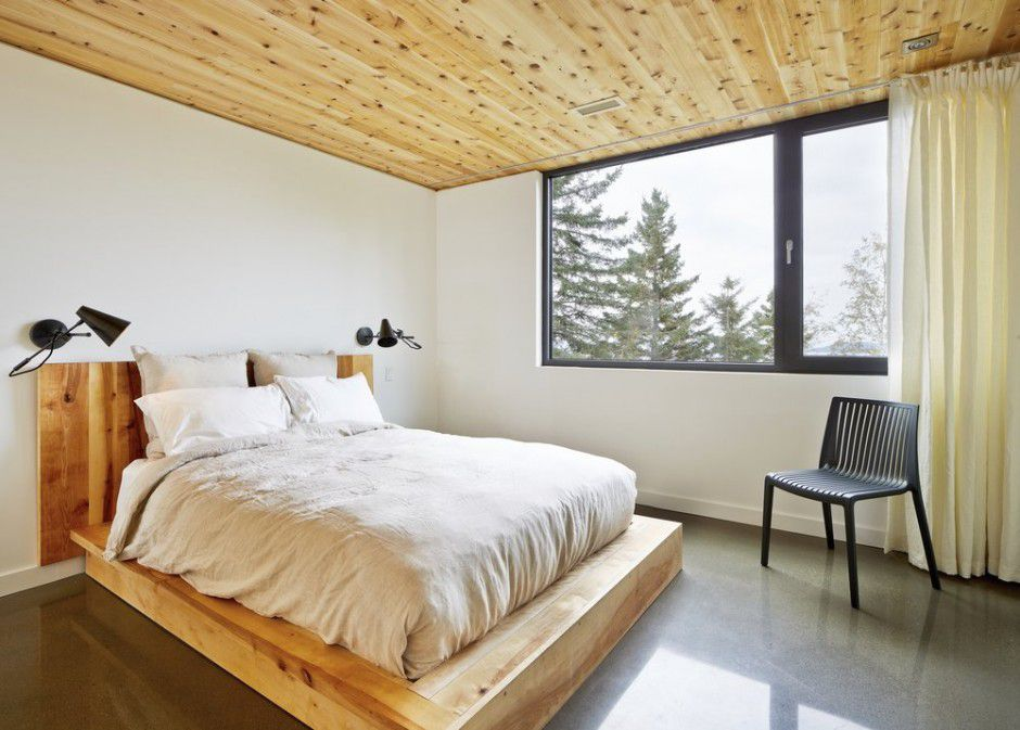 solid wood bed Canada Architecture Woodz