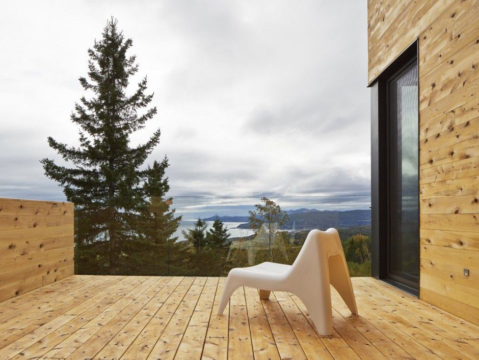 Malbaie Residence Canada Architecture Woodz