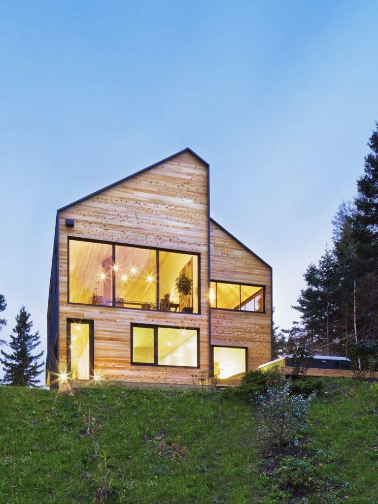 wooden facade Canada Architecture Woodz
