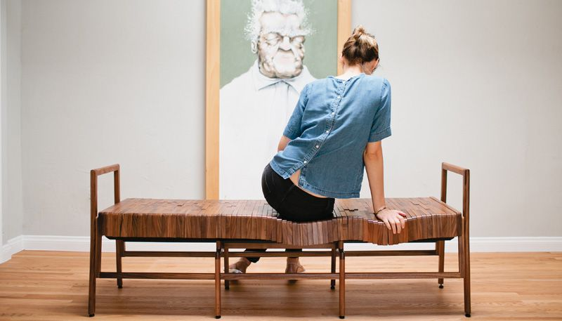smart wooden flex bench