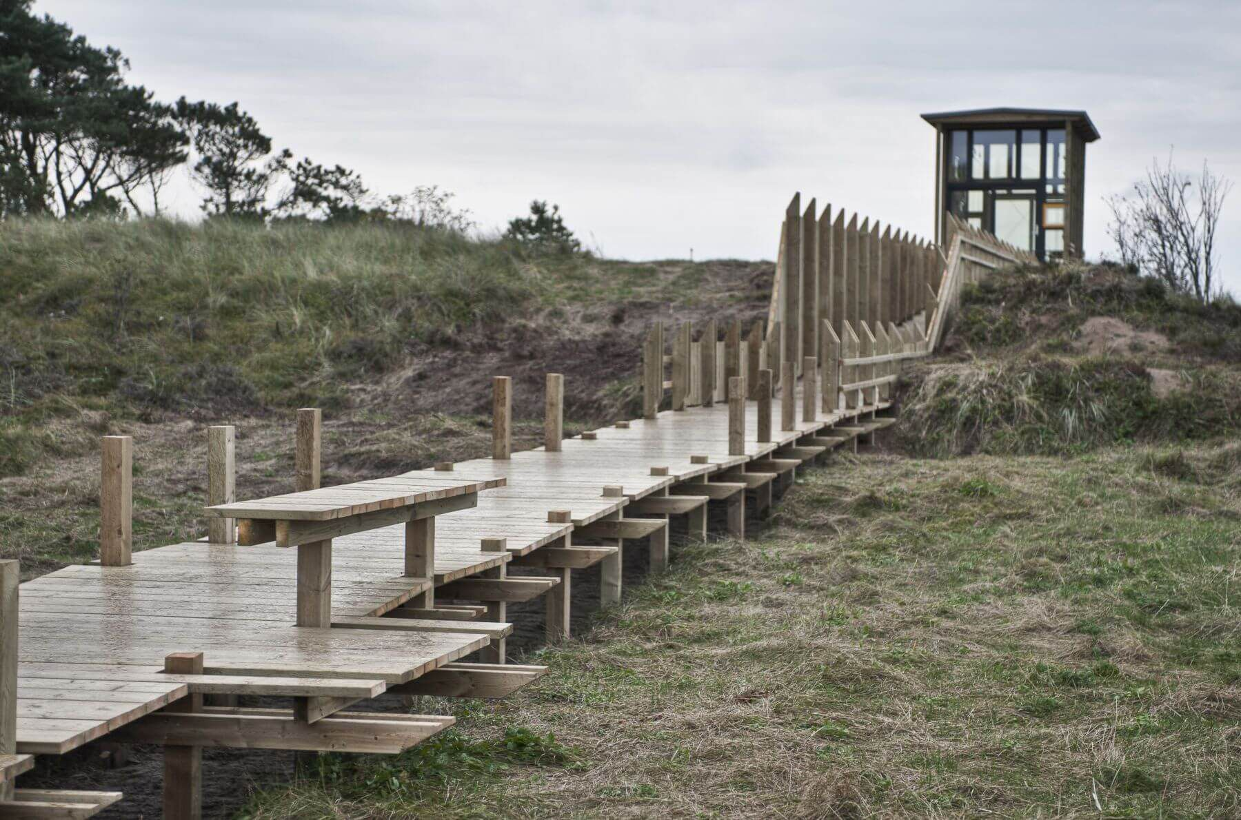 wooden landscape viewpoint Norway