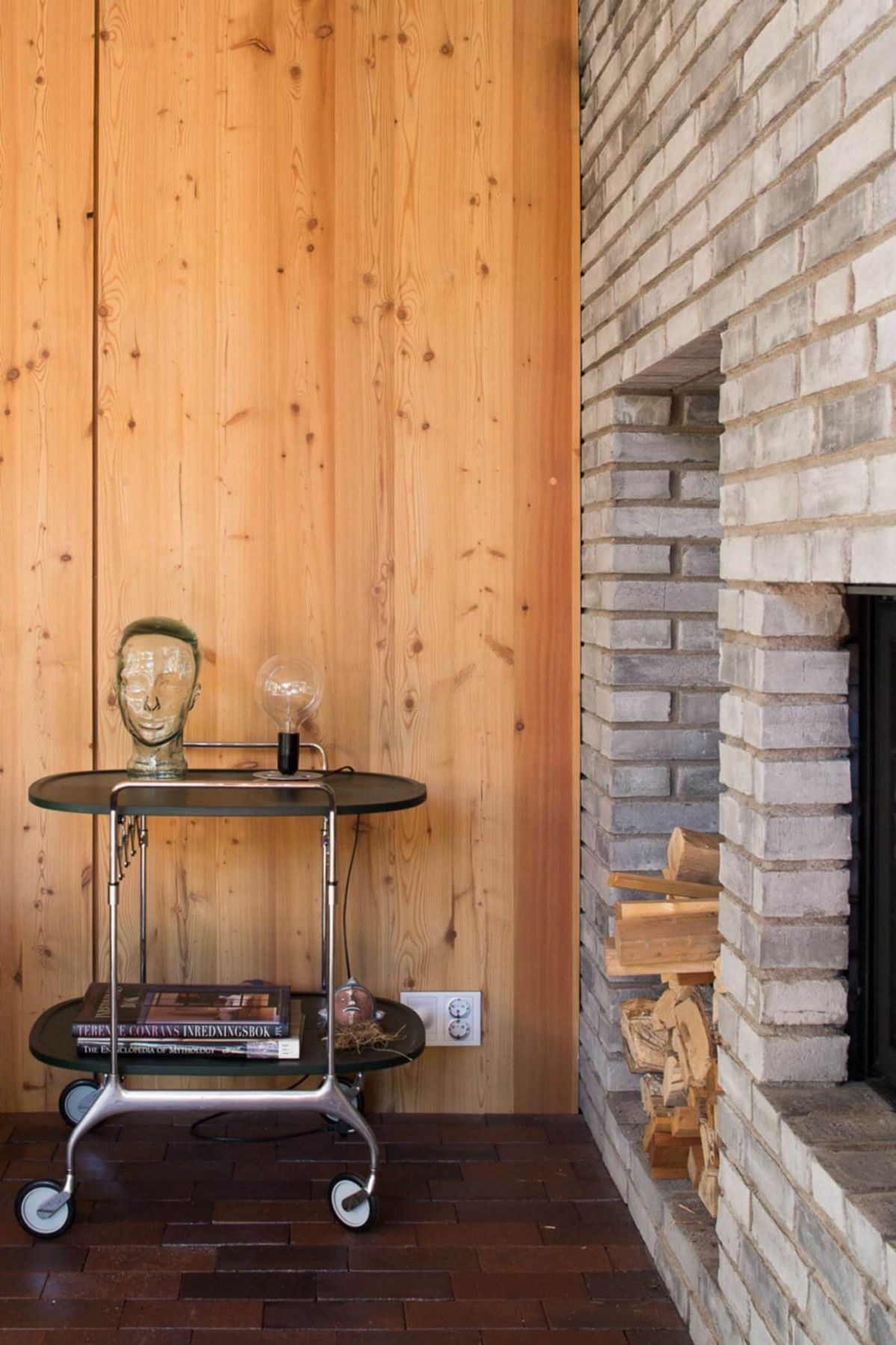 modern interior wooden wall