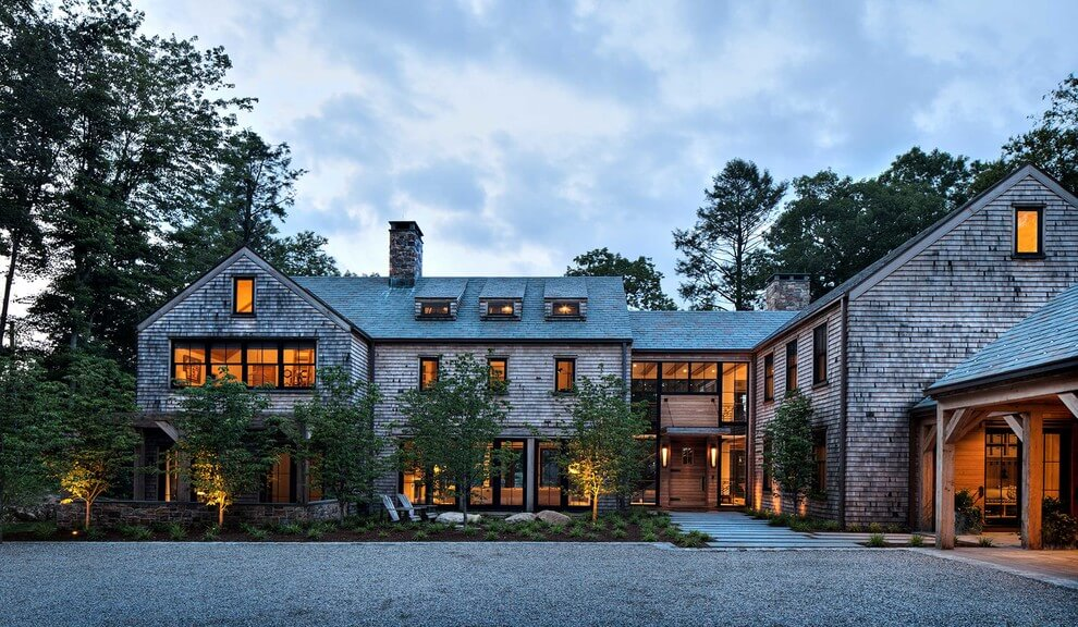 modern lake house woodz ForModern House New York