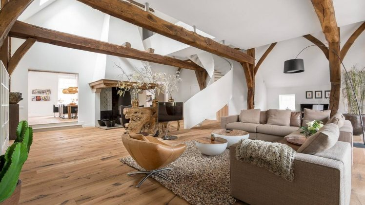 What well thought through wooden flooring can do to a place.