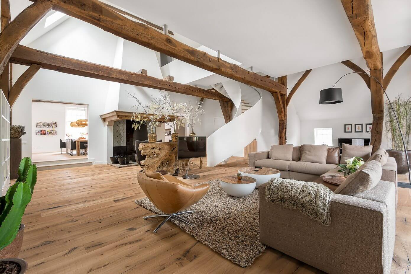 Enschede old farmhouse woodz for Decoration rustique interieur