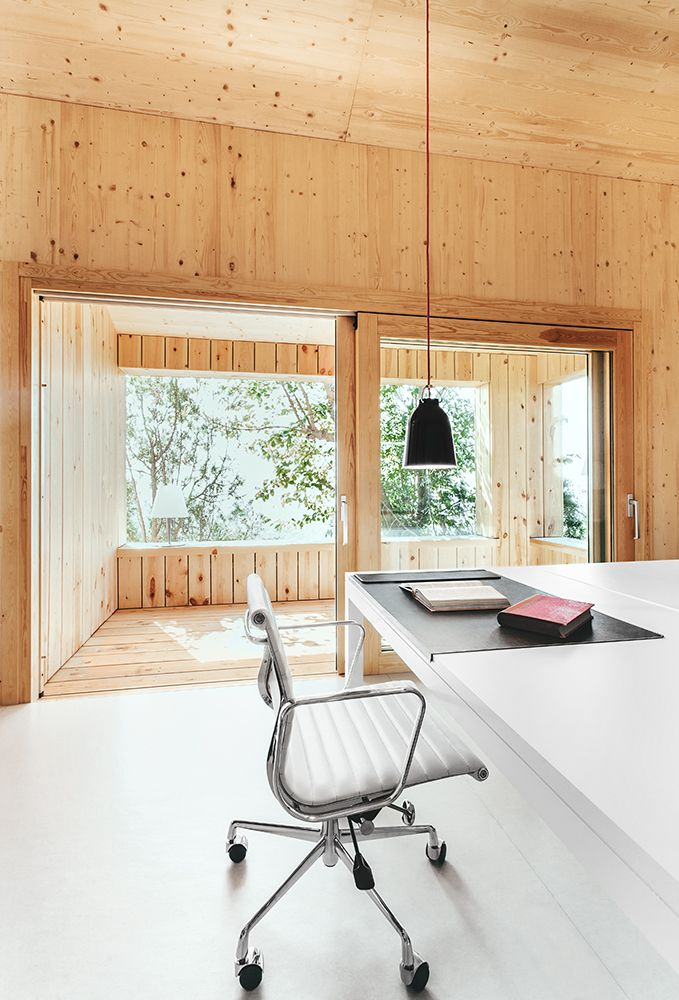 Wooden Efficient prefab sustainable passive