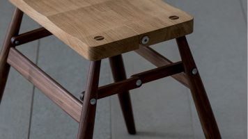Astounding Imo Folding Stool Vision Of A Man Who Respects Materials Machost Co Dining Chair Design Ideas Machostcouk