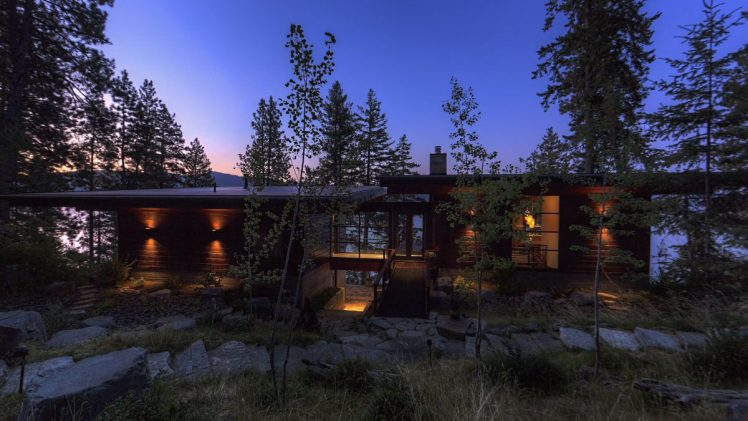 The Cabin is centered on the notion of a large close-knit family, and each member was considered in the design.