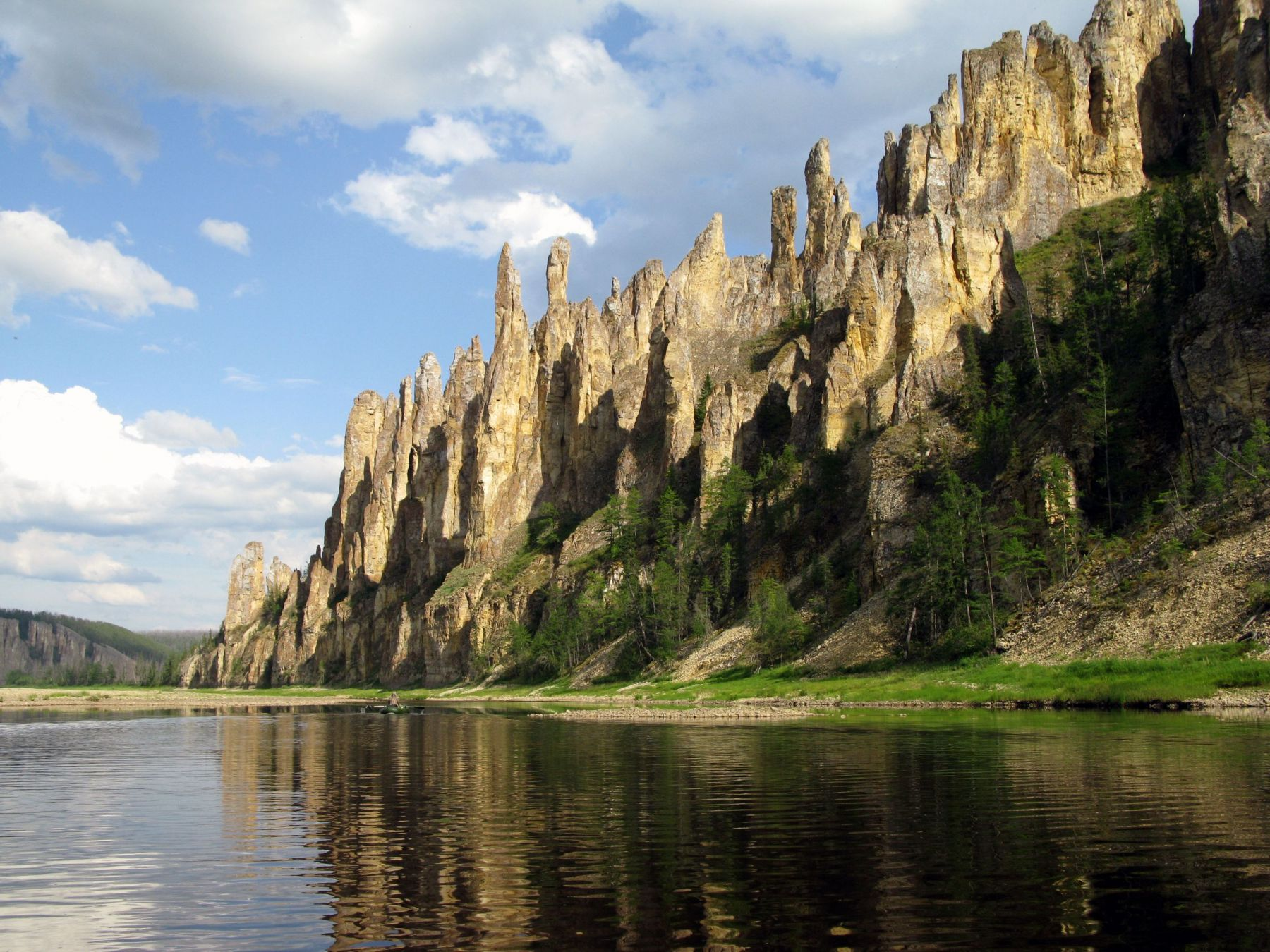 One of the most beautiful and mysterious natural wonders of Russia, Lena's Stone Forest is also one of the most ...