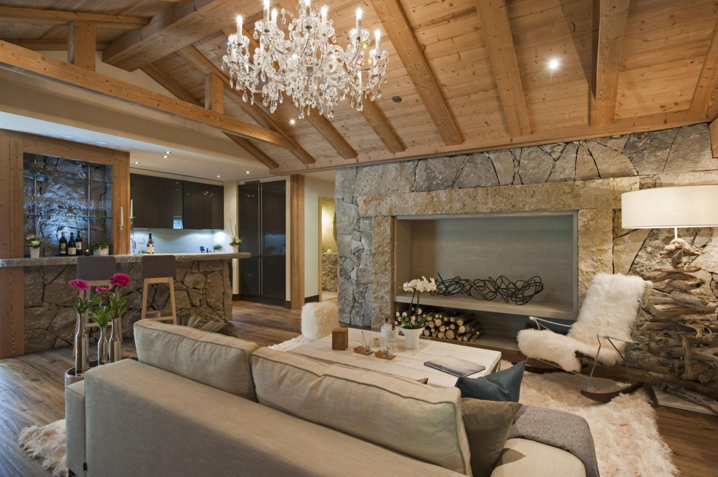 Switzerland mountains - Wood, all the texture and natural elements