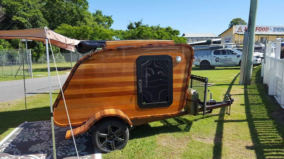 The teardrop trailer is already a beloved icon inspiring visions of exploration and adventure. The Australian-designed Wood on Wheels (WOW) ...