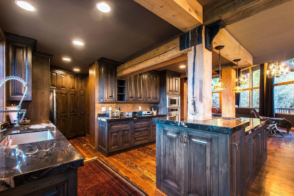 Sundance, Utah rustic castle like cabin