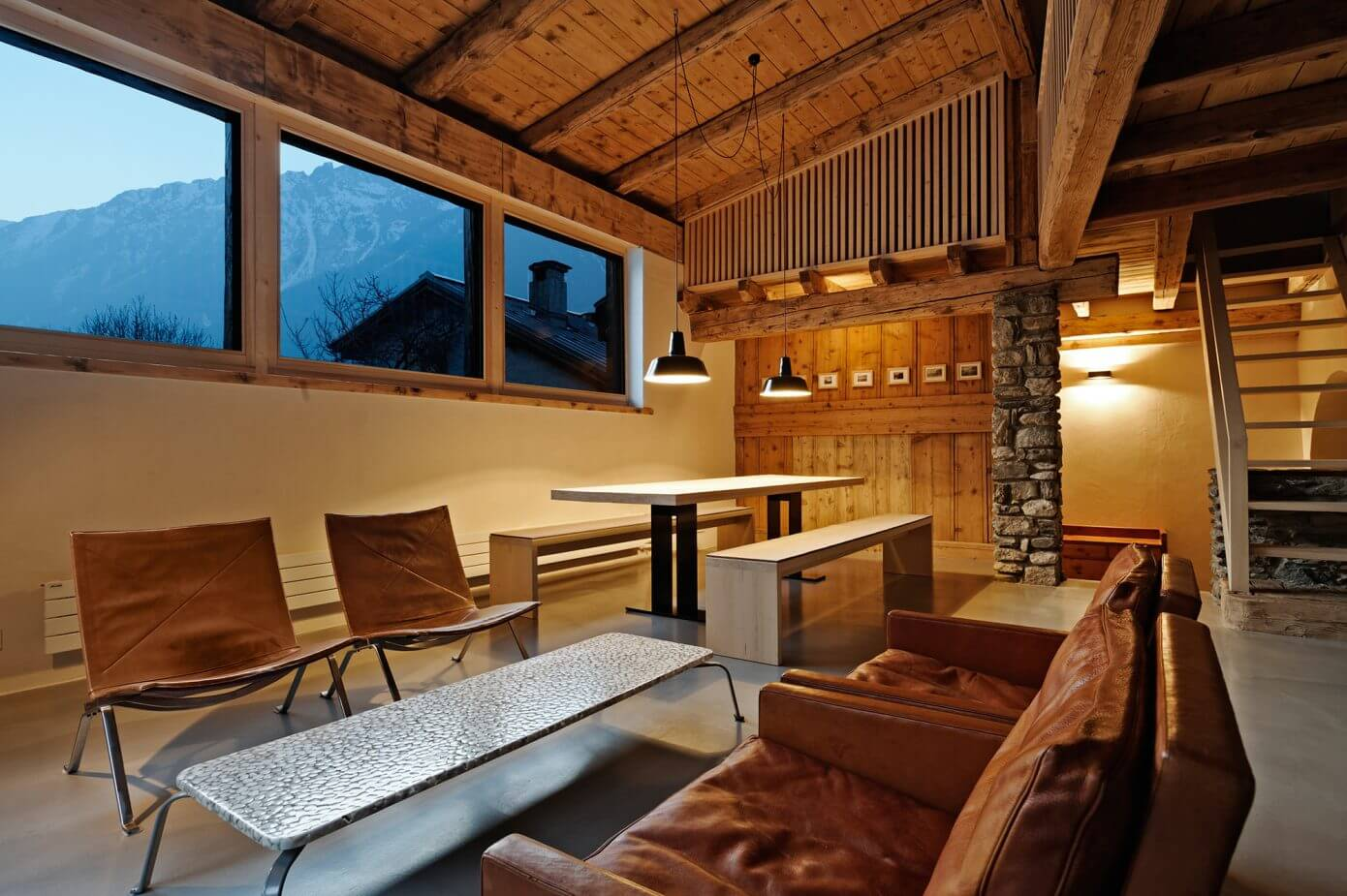 Renovated farmhouse in Chamonix - modern vacation house