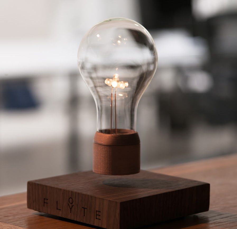 An art scientist, Simon Morris, has created a revolutionary wireless light bulb that levitates and has a staggering lifetime of ...