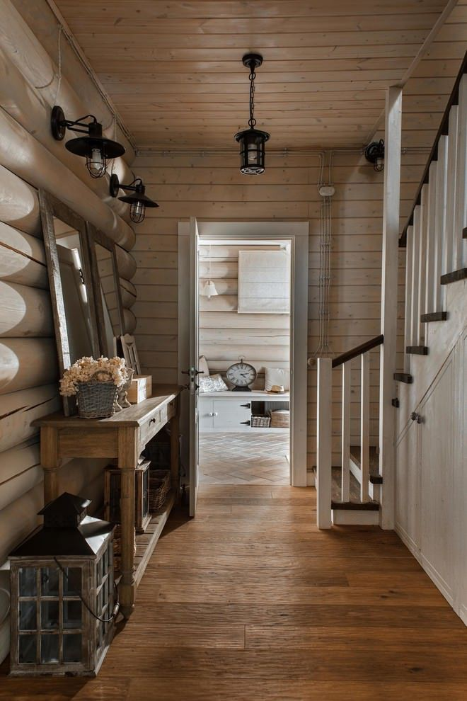 Moscow rustic summer house loghouse