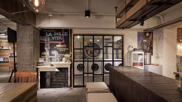 This project is about combining the client's passion for French pastry and daily laundry chore. A place where the scent ...