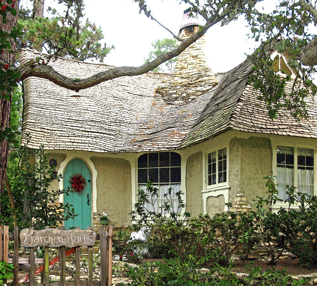 Fairytale cottages by the sea