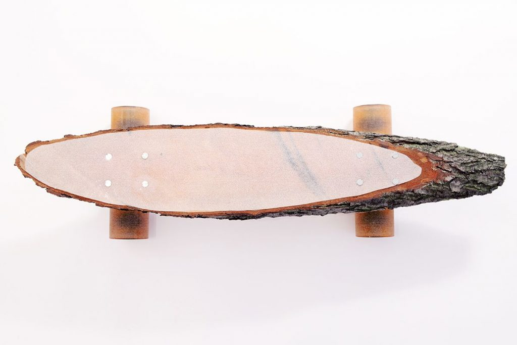 Forster Skateboard From Single Piece Of Wood