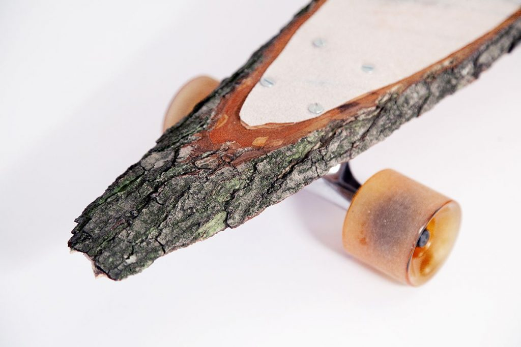 Unique Skateboard Made From A Single Piece Of Wood Woodz