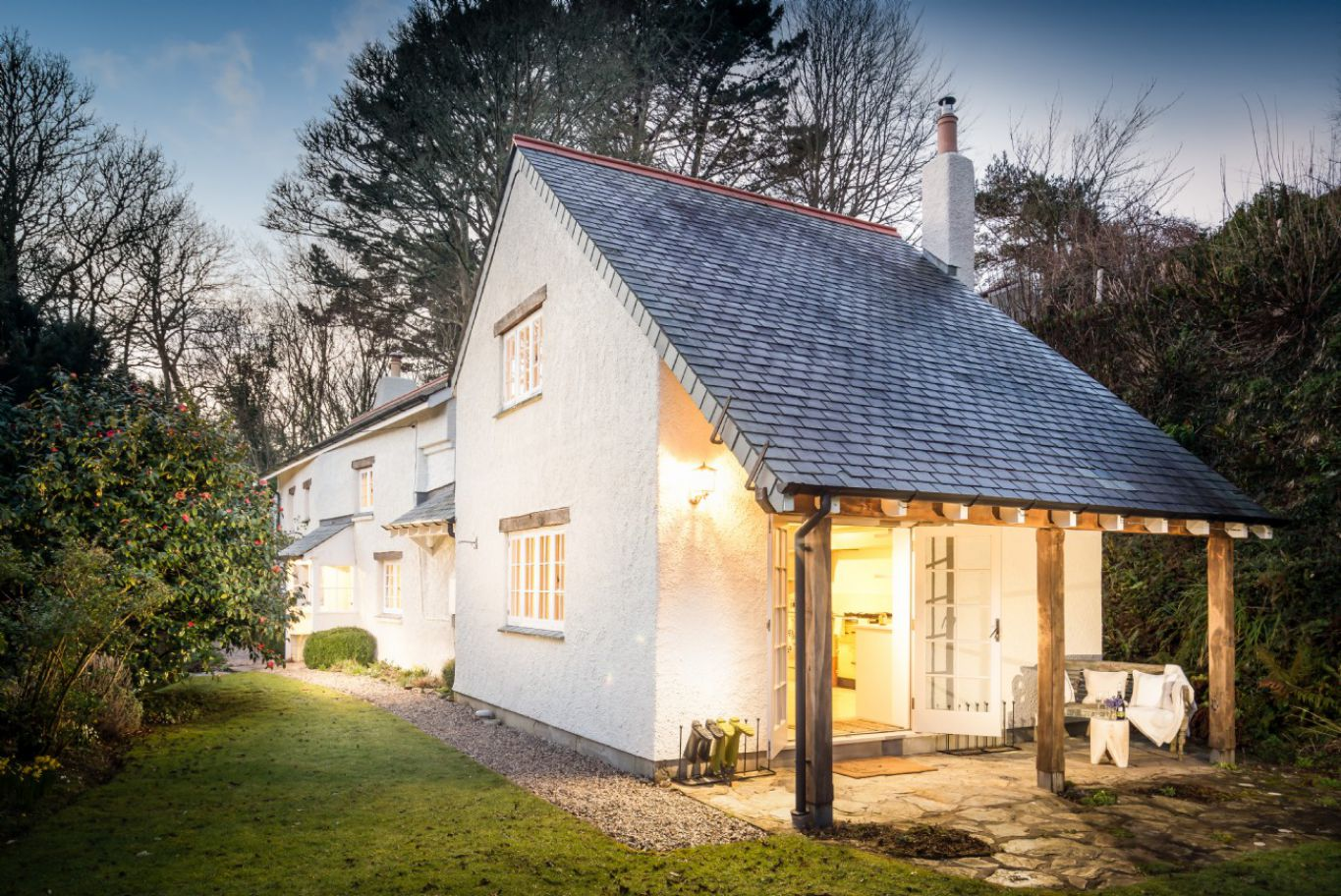 renovated 17th century cottage cabin