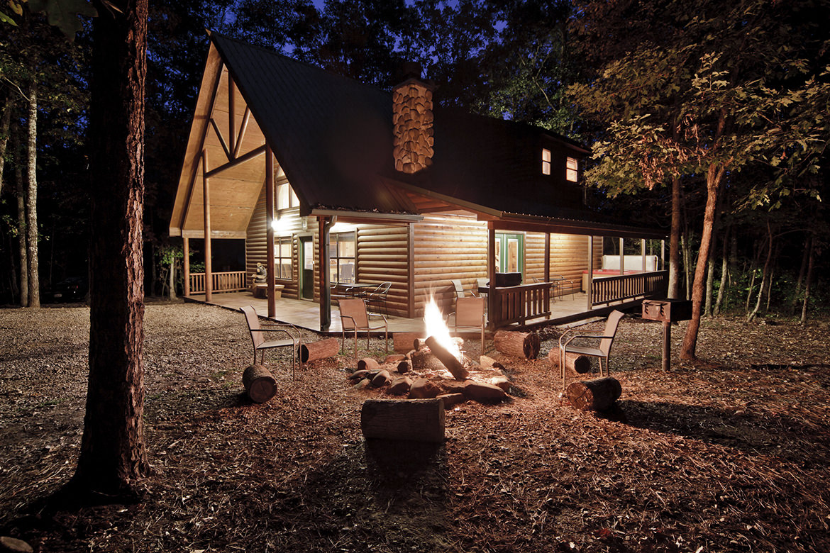Big Bear Lodge is a spectacular and luxurious vacation home located in a secluded private wooded setting just a stones ...