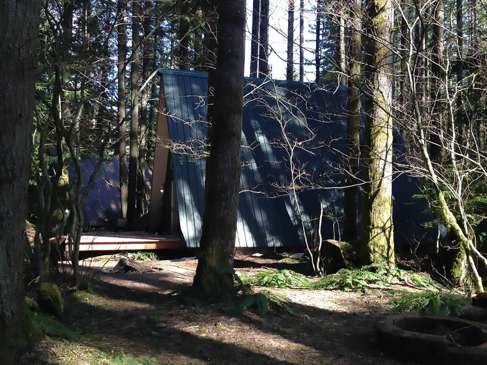 wood cabin in the woods, tent design ideas