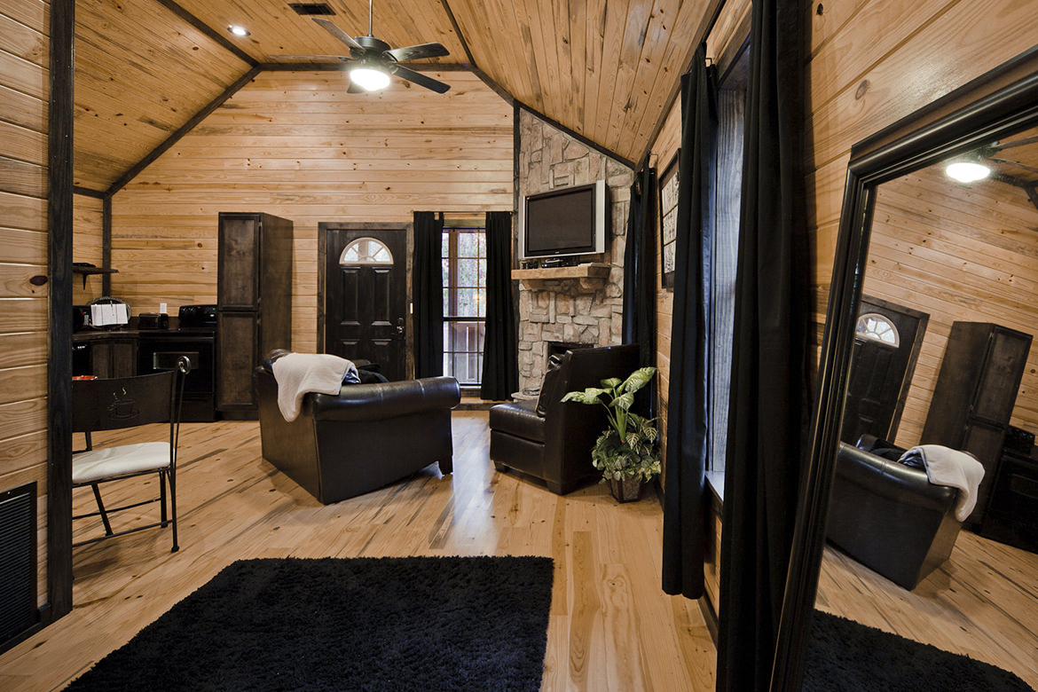 wood wall, floor and ceiling design ideas, cabin