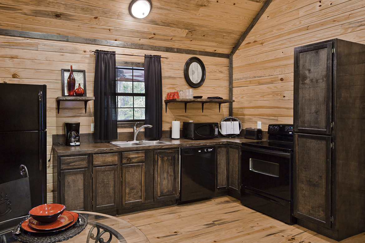 wood floor, wall and ceiling, wooden shelves design ideas, kitchen
