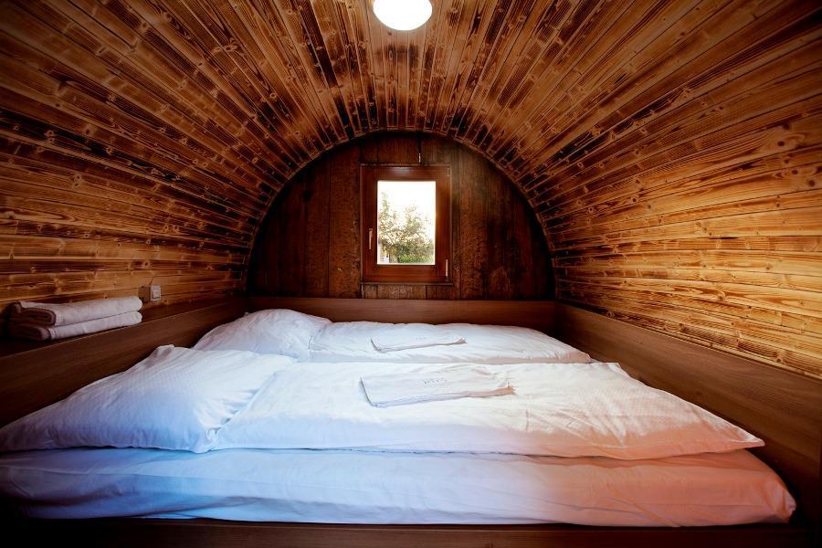 wood barrel house bed design ideas
