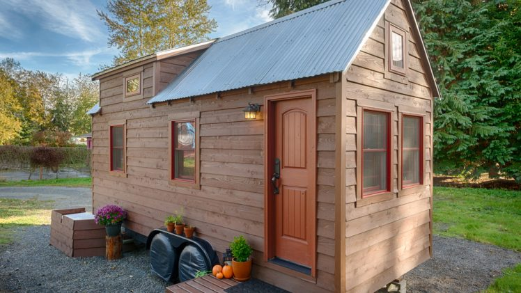 The spouses Christopher and Malissa built the Tiny Tack House and have enjoyed living tiny so much that they want ...