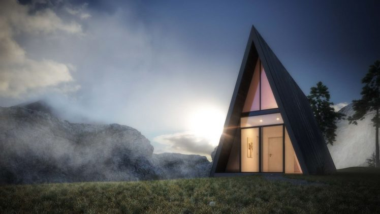 Triangle Cliff House is currently a concept created by German architect Matthias Arndt under the auspices of an internal project ...