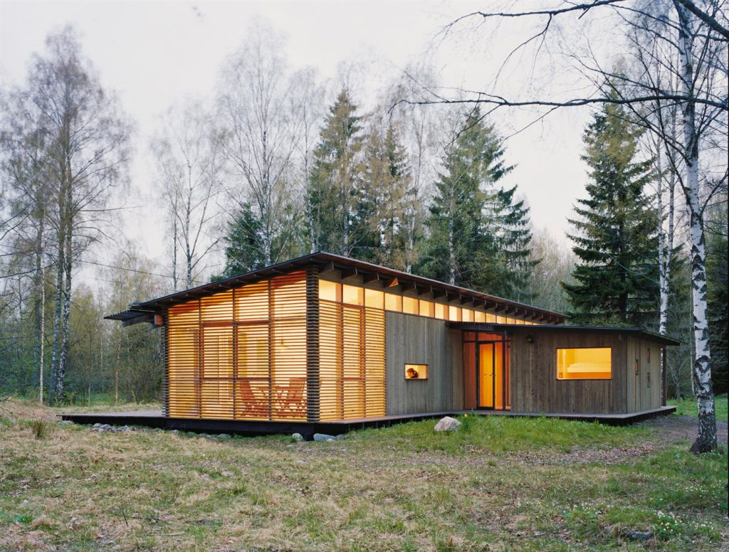 wood cabin design ideas