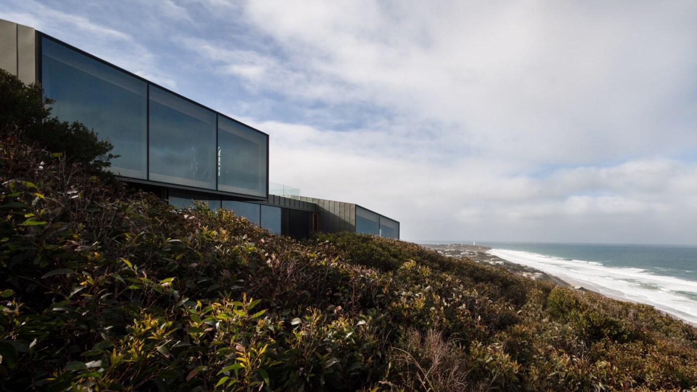 stunning view modern ocean beach house
