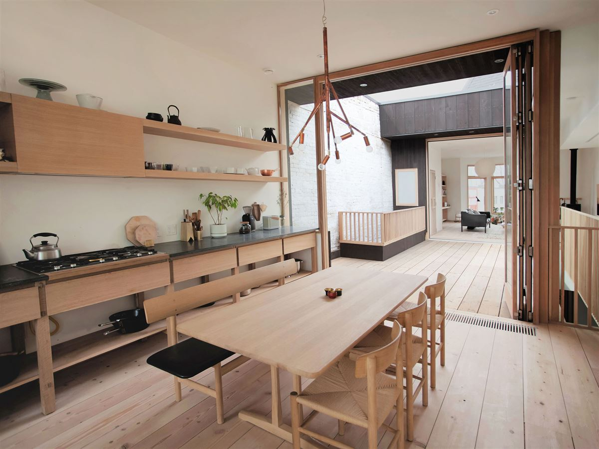 Mjölk House shows how a landmark building can be renovated in a contemporary manner while still respectful and in keeping ...
