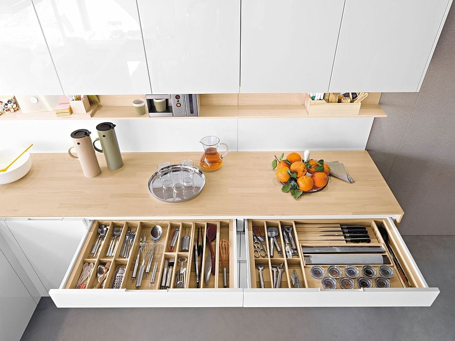 We quickly run out of space in the kitchen so these space-saving ideas show many ways to store large quantities of ...