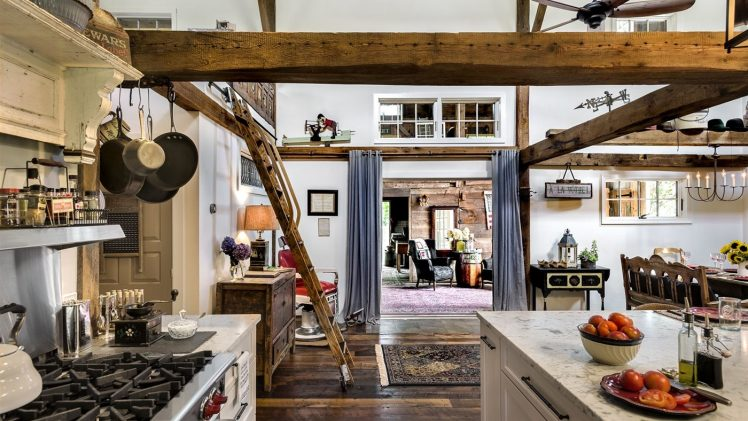 The homeowners of this unique home and barn had lived in the area for years and were thinking seriously about ...
