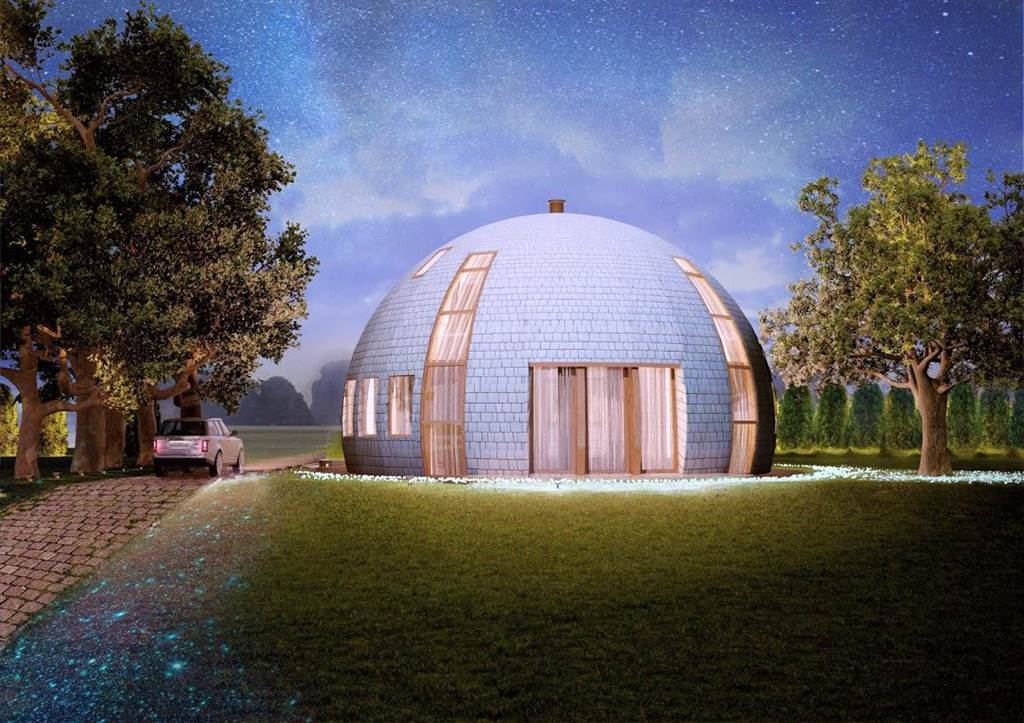 In the Russian company Skydome creators were thinking outside the box and innovatively designed a house in the shape of ...