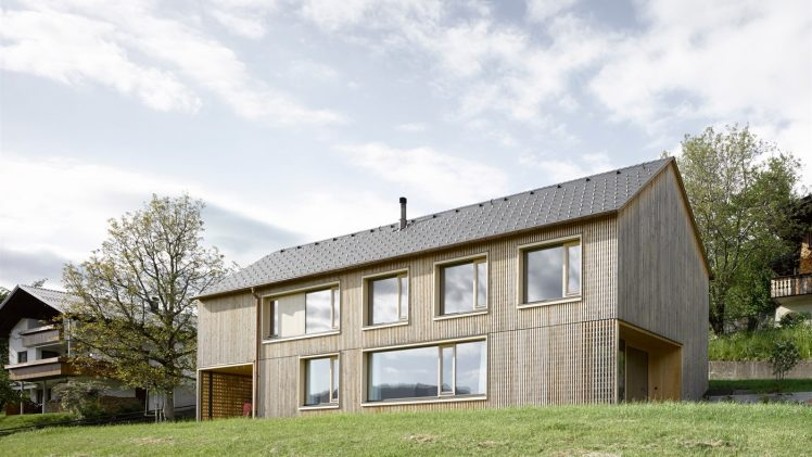 Haus Für Julia Und Björn clamped between a lime tree and a walnut tree, comfortably completes the small hamlet in ...