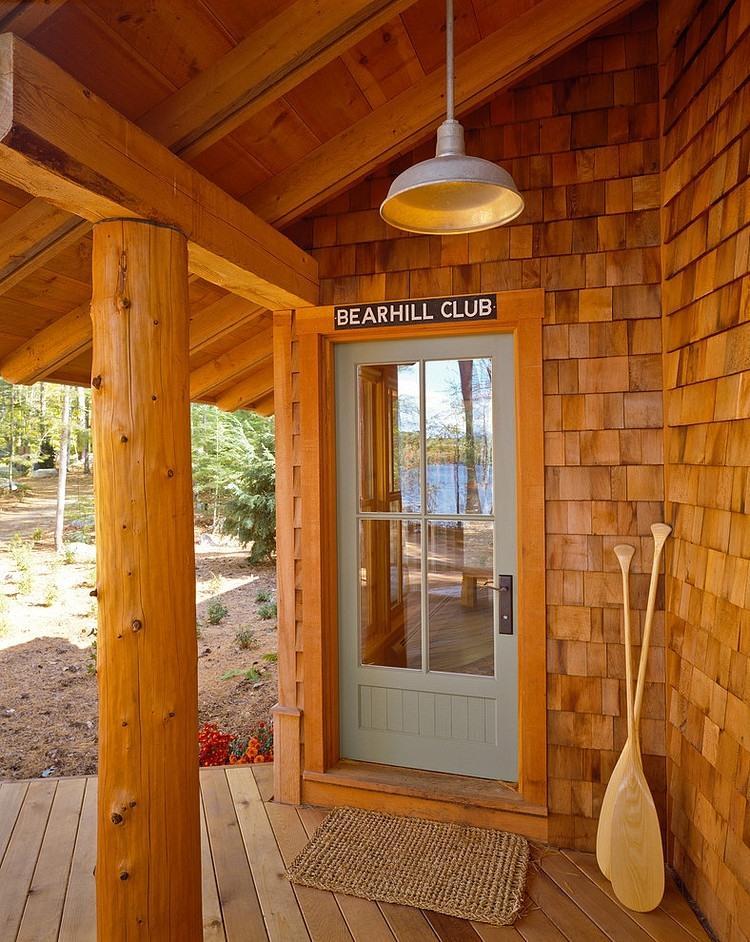 wood beam, floor and roof, terrace design ideas