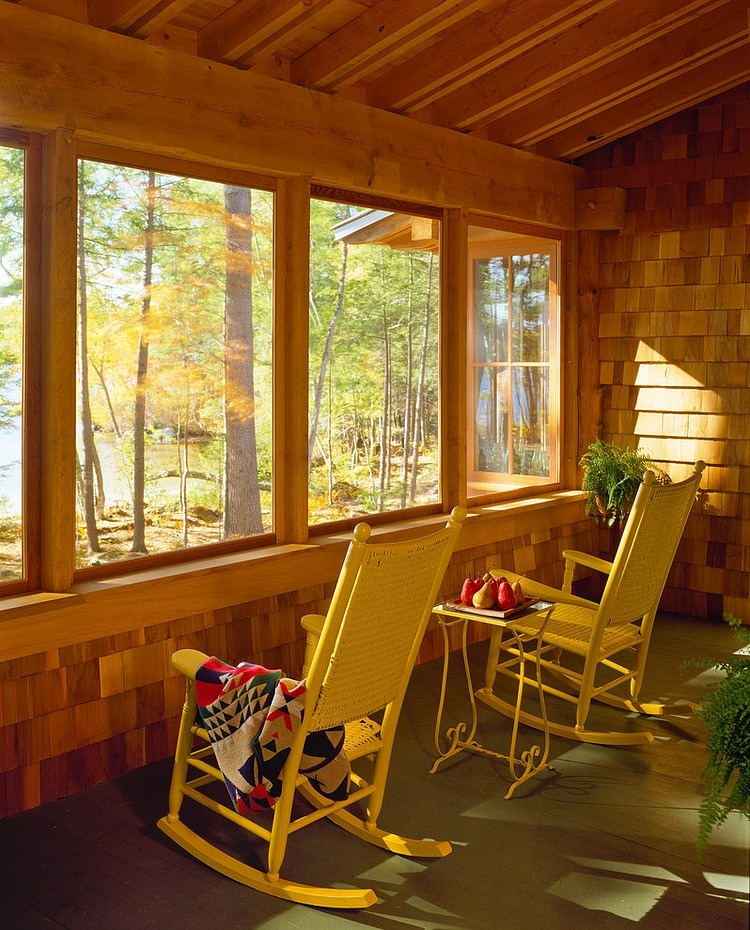 wood wall and windows, wooden beam ceiling design ideas