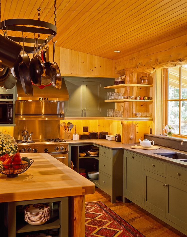 wood floor, wall and ceiling, wooden table, kitchen design ideas