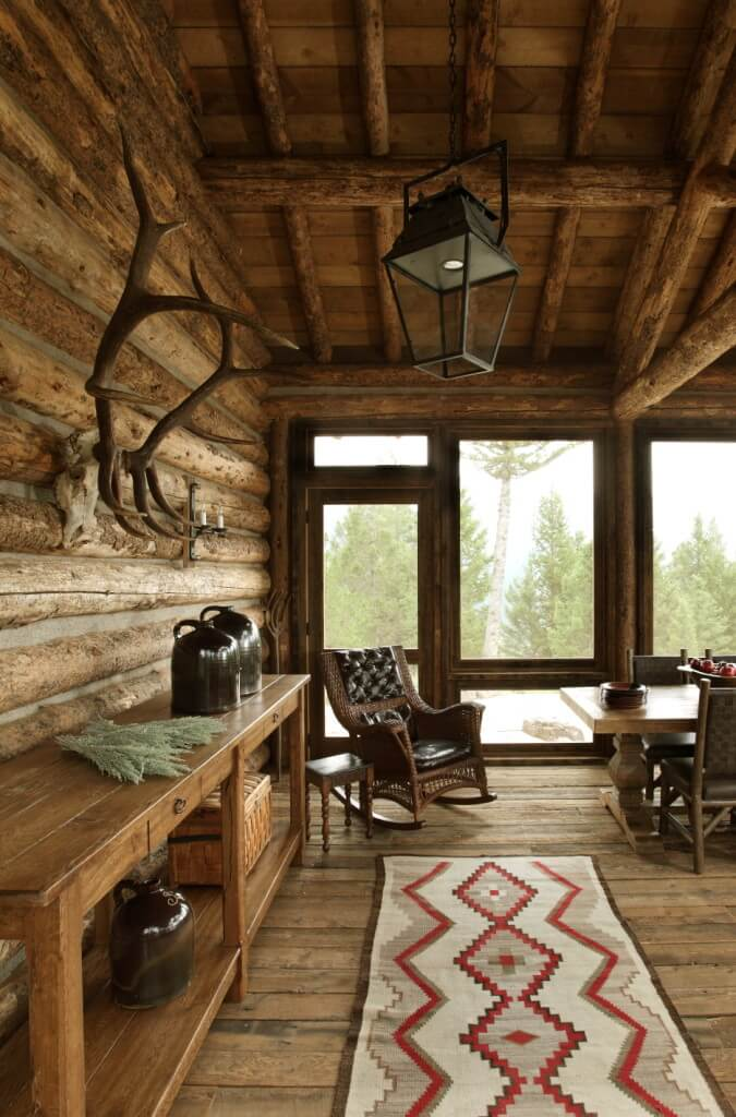 wood table, floor, wall and ceiling design ideas