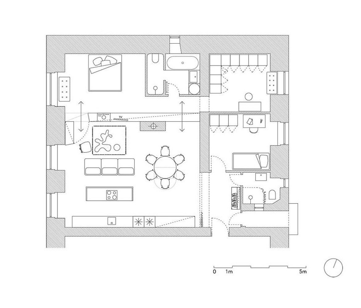 trn apartment plan after