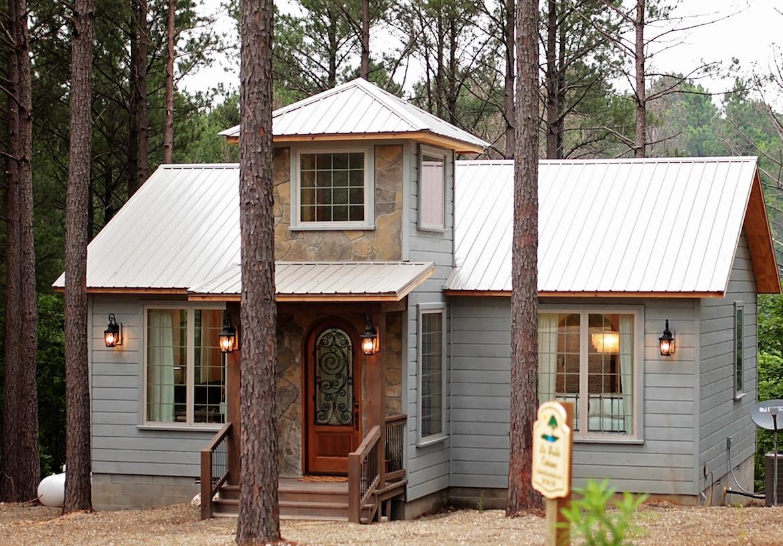 wood cabin design ideas