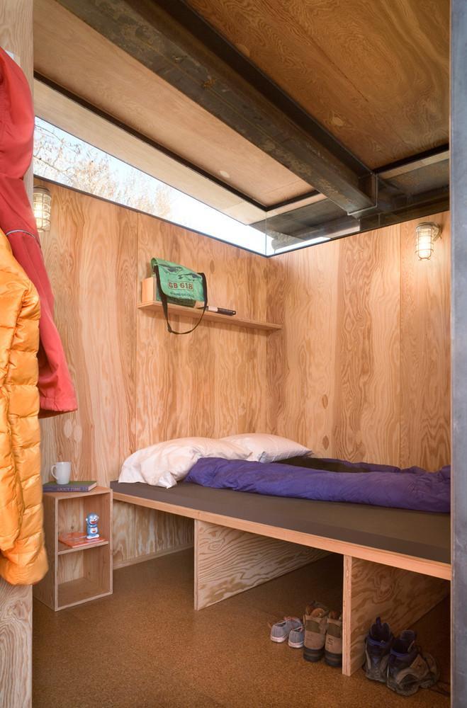 wood interior, wooden bed design ideas