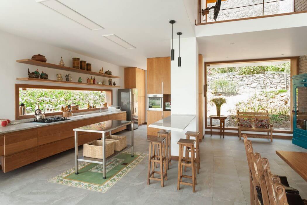 cozy wood kitchen design ideas