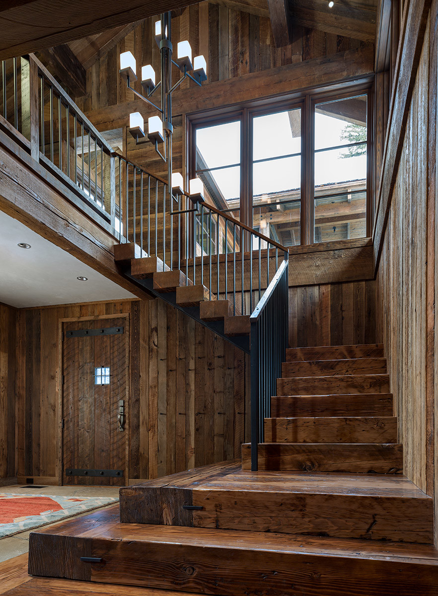 wood stairs design ideas